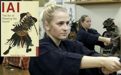 Iaido experience to learn Samurai spirit near the Imperial Palace in Tokyo!!