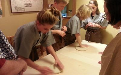 pounding dough