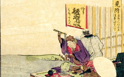 Traditionally rooted in Japanese food culture, soba noodle is served at wide variety places such as teahouses for travelers.  1790's