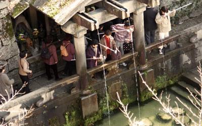 The birth place of Kiyomizu tera temple