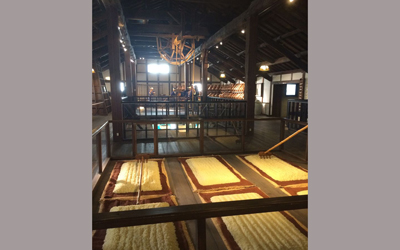 Ancienty production site of sake