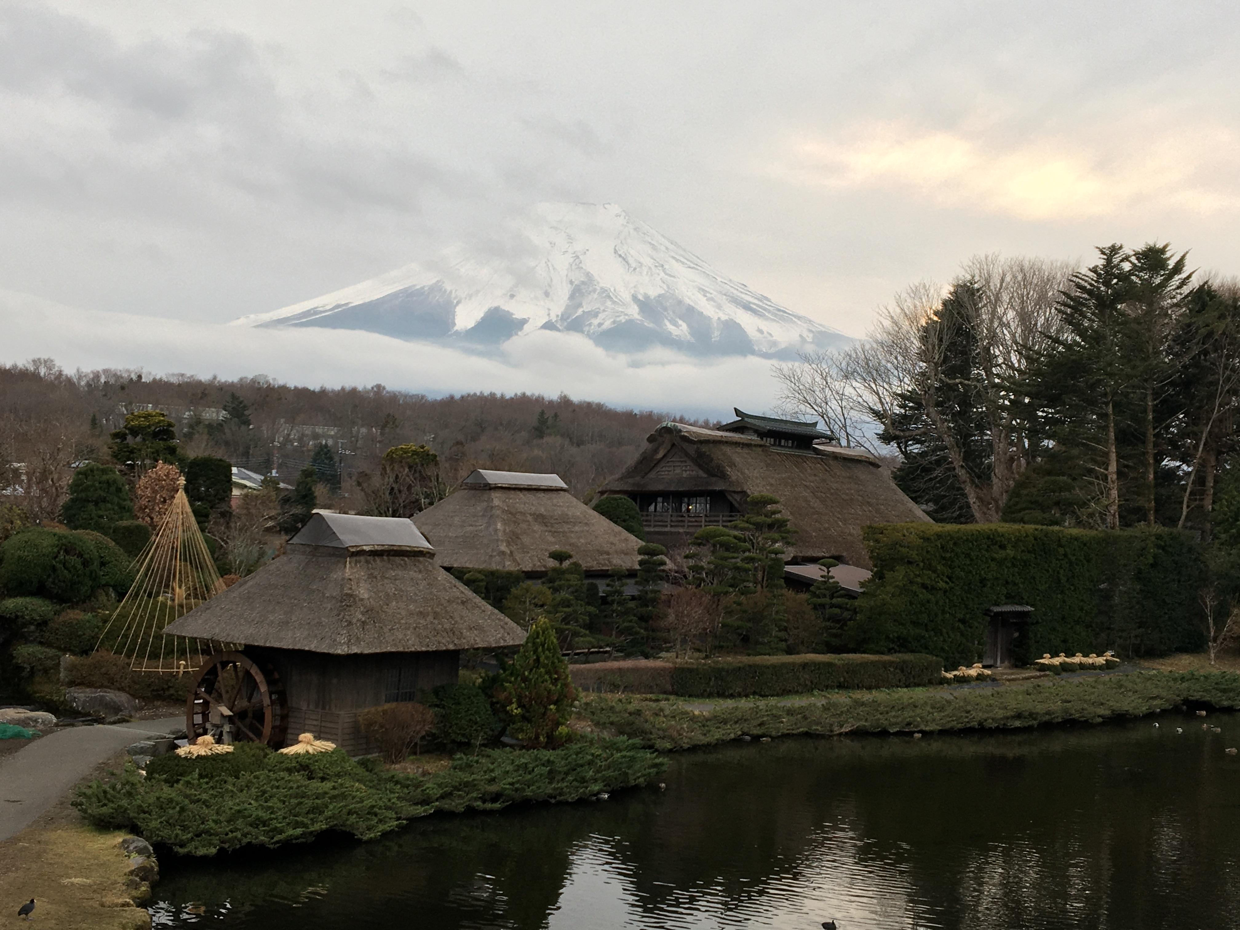 Mt. Fuji from Oshino Hakkai