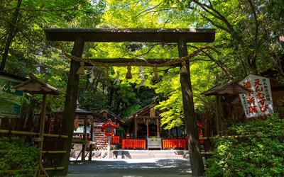 Nomiya shrine in Arashiyama