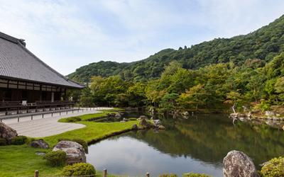 Tenryuji garden in Arashiyama
