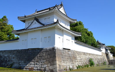 South east tower of Nijo castle