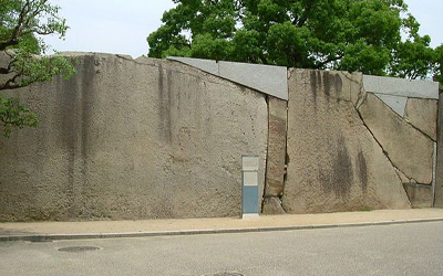 Biggest rock(100tons) at Osaka castle