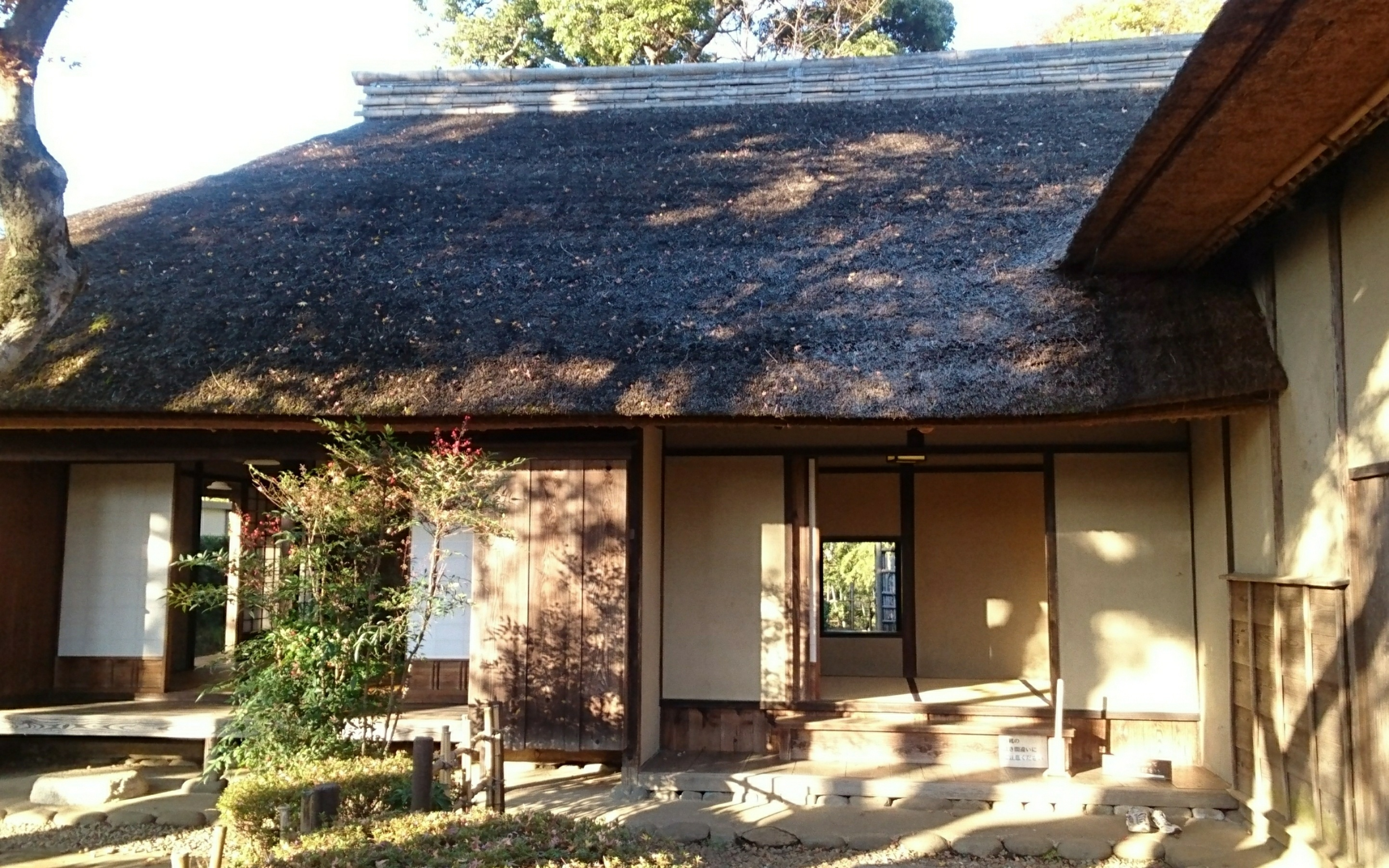 The former residence of the Tajima family. This house stands where it was originally located, being restored to its original condition!!