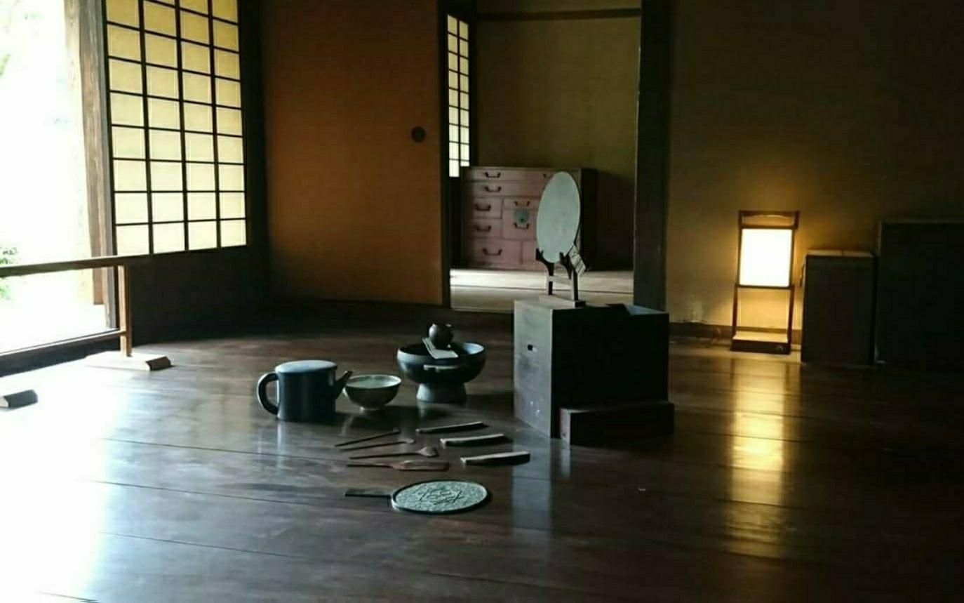 Nando(Family's living room) in the former residence of the the Kawara family.