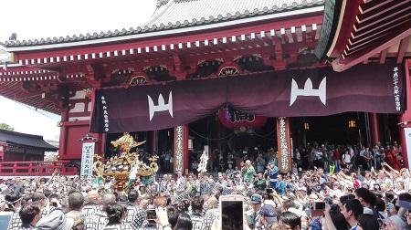Sensoji Temple - Sanja Matsuri (Festival)