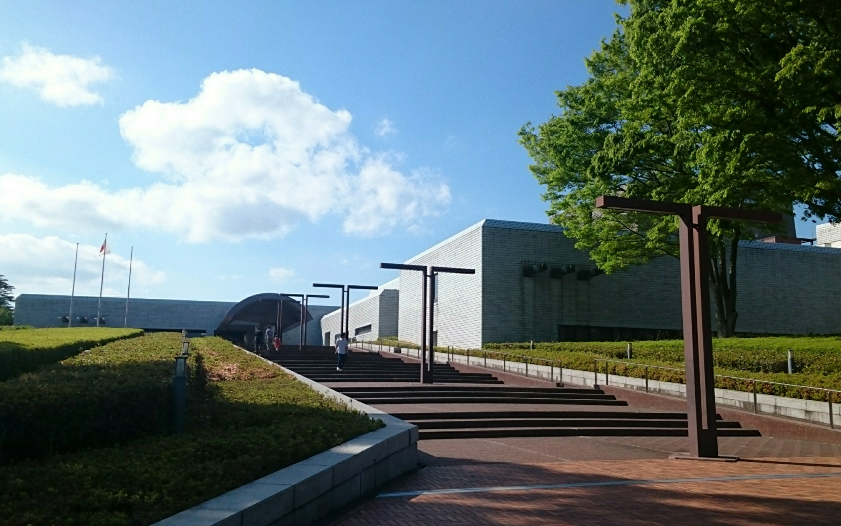 The National Museum of Japanese History(known popularly in Japanese as 歴博REKIHAKU)  The REKIHAKU located in the park,which is  only nationally operated and the largest museum of history and folklore in Japan.