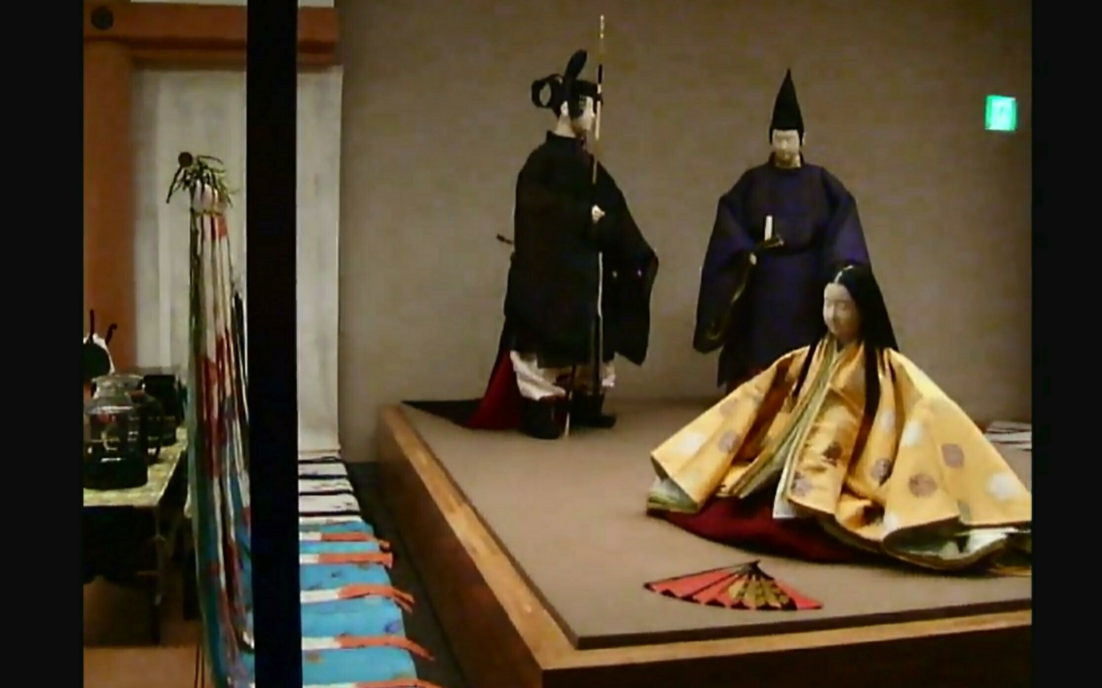 The REKIHAKU:Court dress(in the middle of Heian Period,10th and 11th centuries)