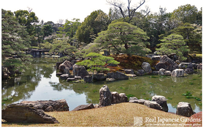 Garden of Nijo castle