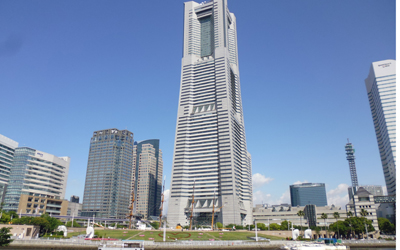 The Minato Mirai 21 area has developed since 1990\'s. Landmark tower is the second tallest building in Japan at the height of 296 m.